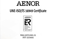 quality certification ISO/TS 19649