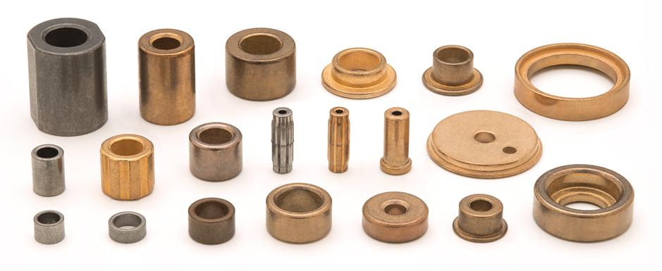 Self-lubricating sintered bearings | AMES Group manufacturer