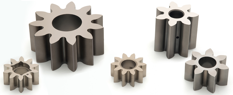 Piñones para transferencia de fluidos