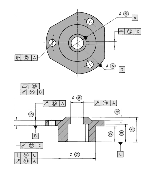 Typical dimensional tolerances that can be achieved in a structural sintered part